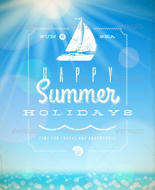 GraphicRiver Summer Holiday Vector Illustration 4948163
