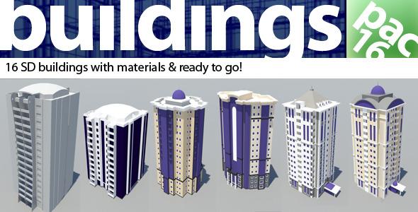 3DOcean Building pac 4937312