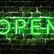 Open Neon Sign - PhotoDune Item for Sale