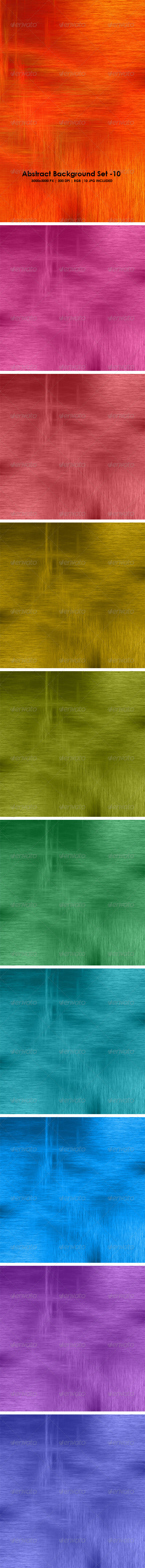 Abstract Background Set 10 - Abstract Backgrounds