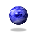 Blue Flame Globe - PhotoDune Item for Sale