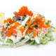 salad of shrimp eggs and vegetables - PhotoDune Item for Sale