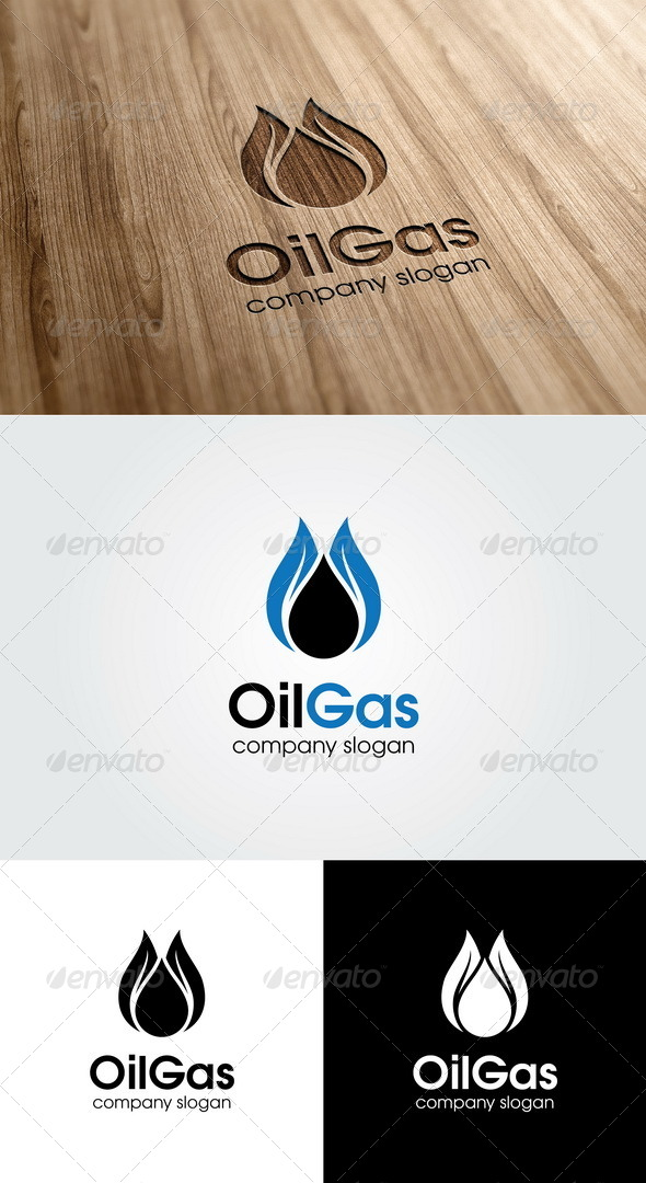 GraphicRiver Oil Gas Logo 4956089