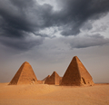 Pyramid in Sudan - PhotoDune Item for Sale