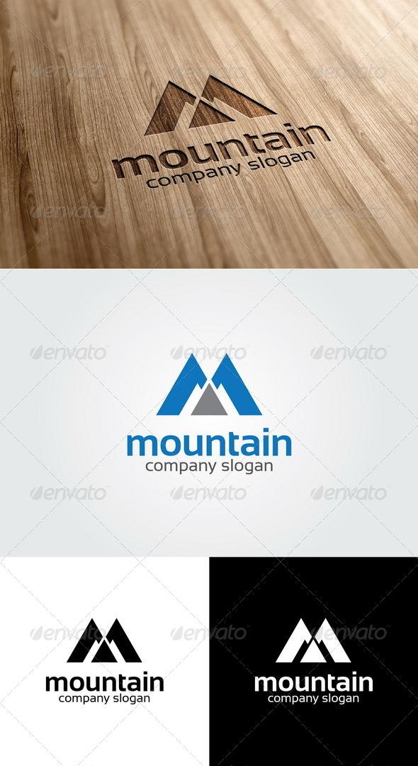 GraphicRiver Mountain Logo 4959238
