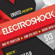 Electro Shock Flyer Poster Template - GraphicRiver Item for Sale