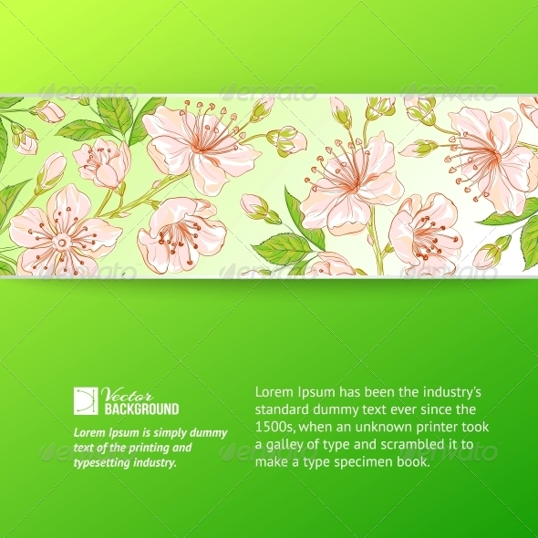 GraphicRiver Abstract Flower Label 4961009