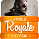 Royale' Creative HTML5 Template - ThemeForest Item for Sale