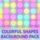 Colorful Shapes Background Pack - VideoHive Item for Sale