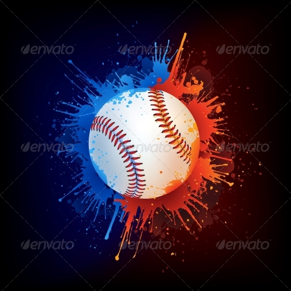 GraphicRiver Baseball Ball 4963062