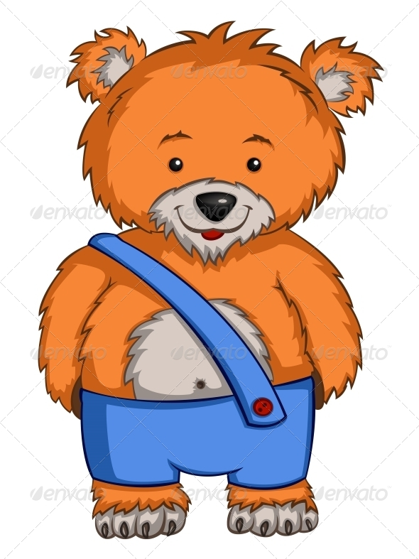 GraphicRiver Cartoon Character Bear 4963067