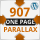 907 - Responsive WP One Page Parallax - ThemeForest Item for Sale