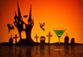 Green Martini in Halloween setting - PhotoDune Item for Sale