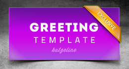 Love Greeting Card Template