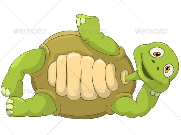 GraphicRiver Turtle Laying 4964297