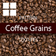 Coffee Grains Texture Backgrounds - GraphicRiver Item for Sale