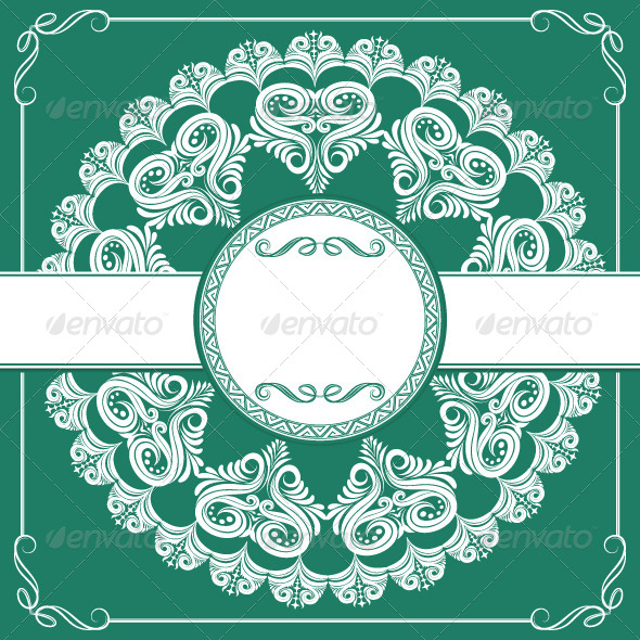 GraphicRiver Circle Invitations Ornament 4965755