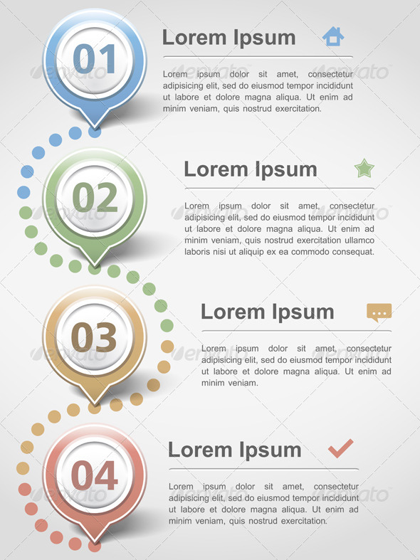 GraphicRiver Infographics Design Template 4966785