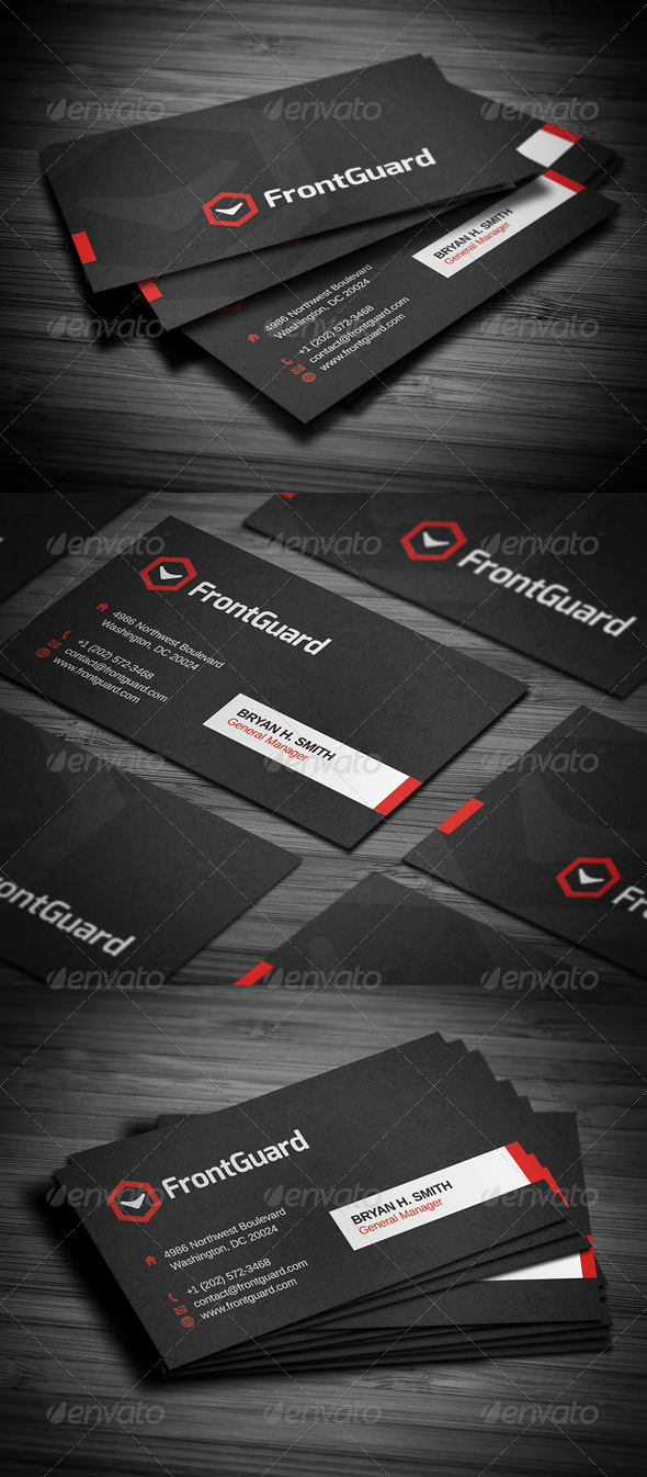 GraphicRiver Stylish Business Card 4967670