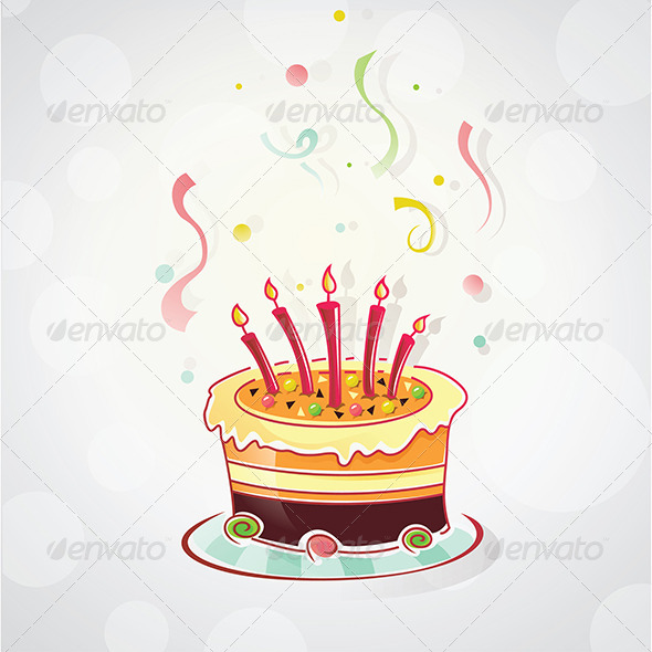 GraphicRiver Birthday Cake 4968110