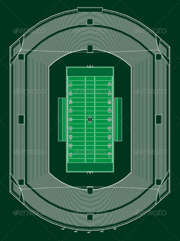 GraphicRiver American Football Stadium 4968117
