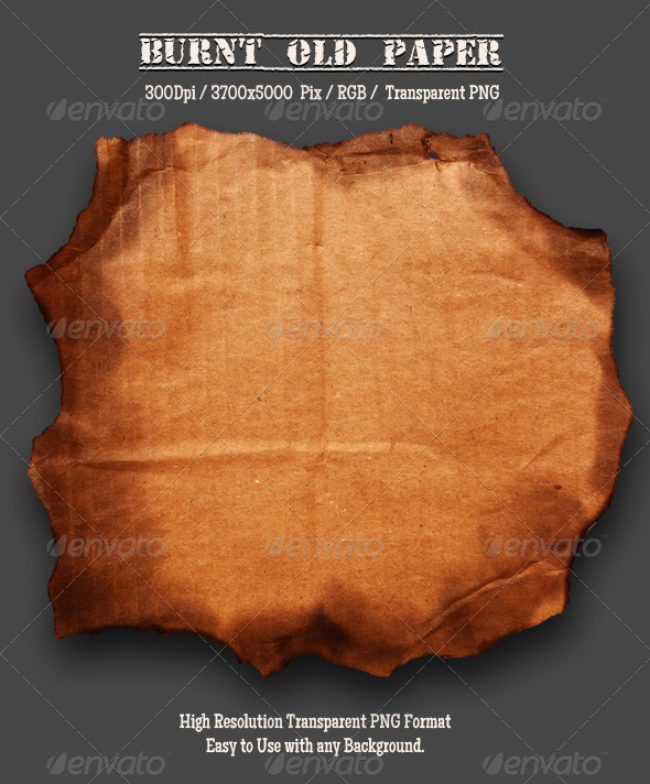 GraphicRiver Burnt Cardboard 3 4968234