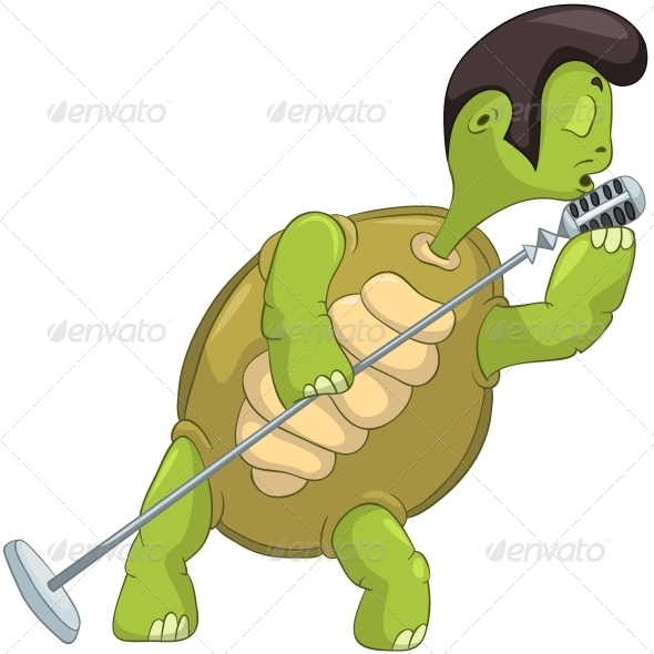 GraphicRiver Turtle Singing 4968615