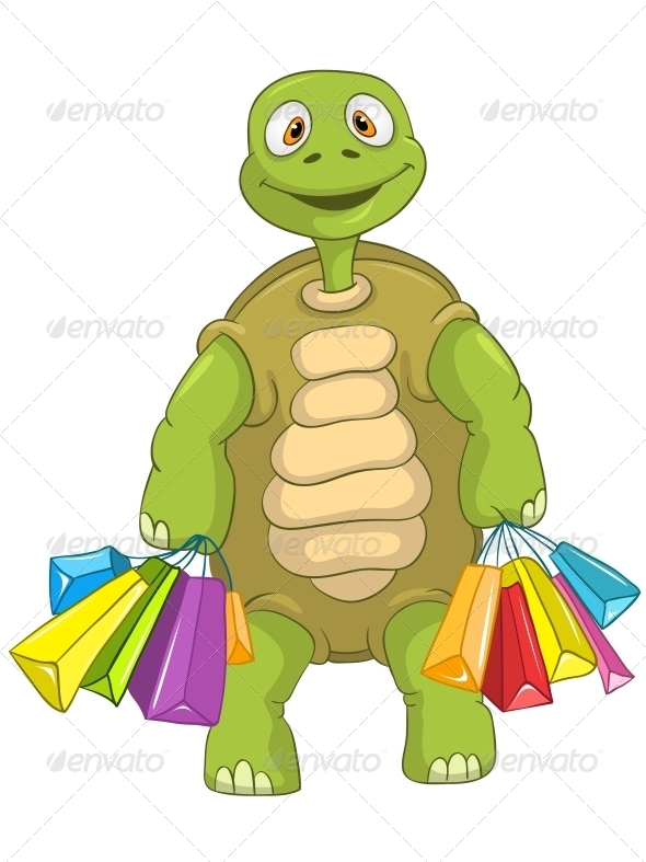 GraphicRiver Turtle Shopping 4968623