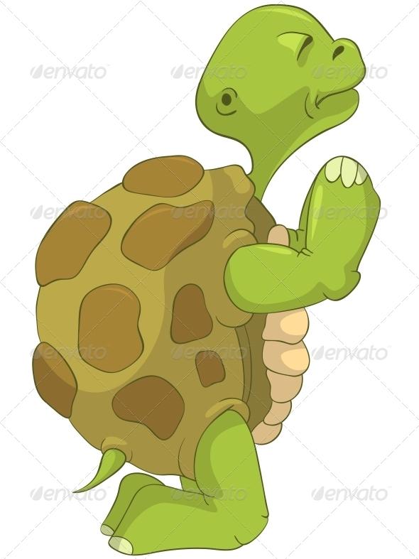 GraphicRiver Turtle Pray 4968642