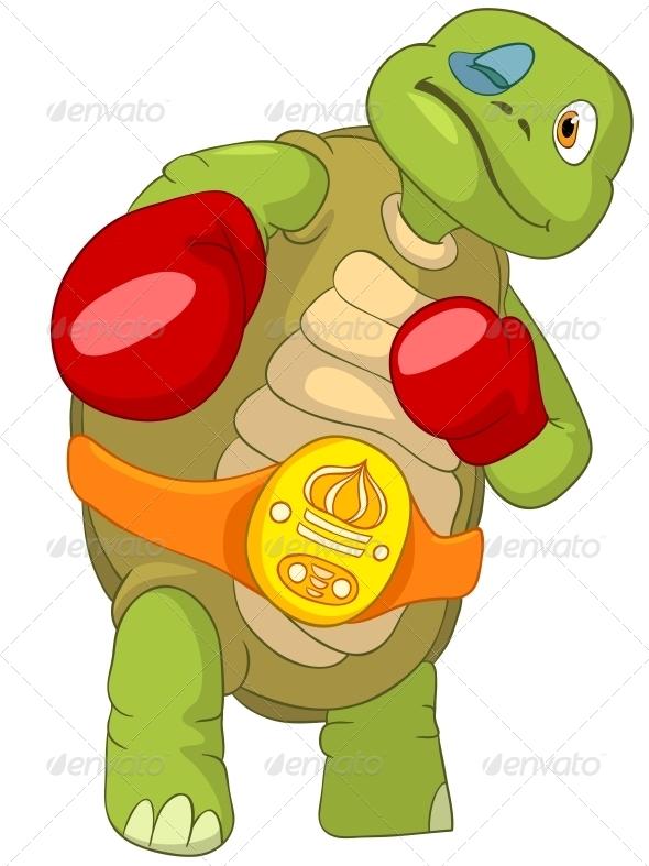 GraphicRiver Turtle Boxer 4968659