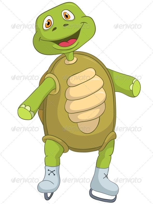 GraphicRiver Turtle Skater 4968667