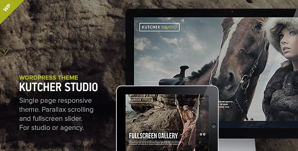 Kutcher Studio - Responsive WordPress Theme