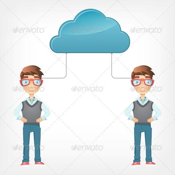 GraphicRiver Cloud Concept 4968934