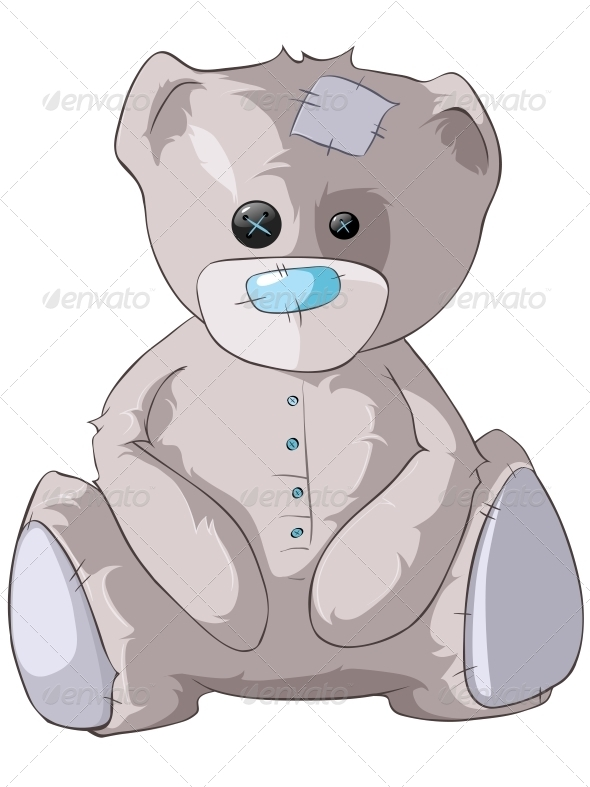 GraphicRiver Cartoon Character Bear 4969171