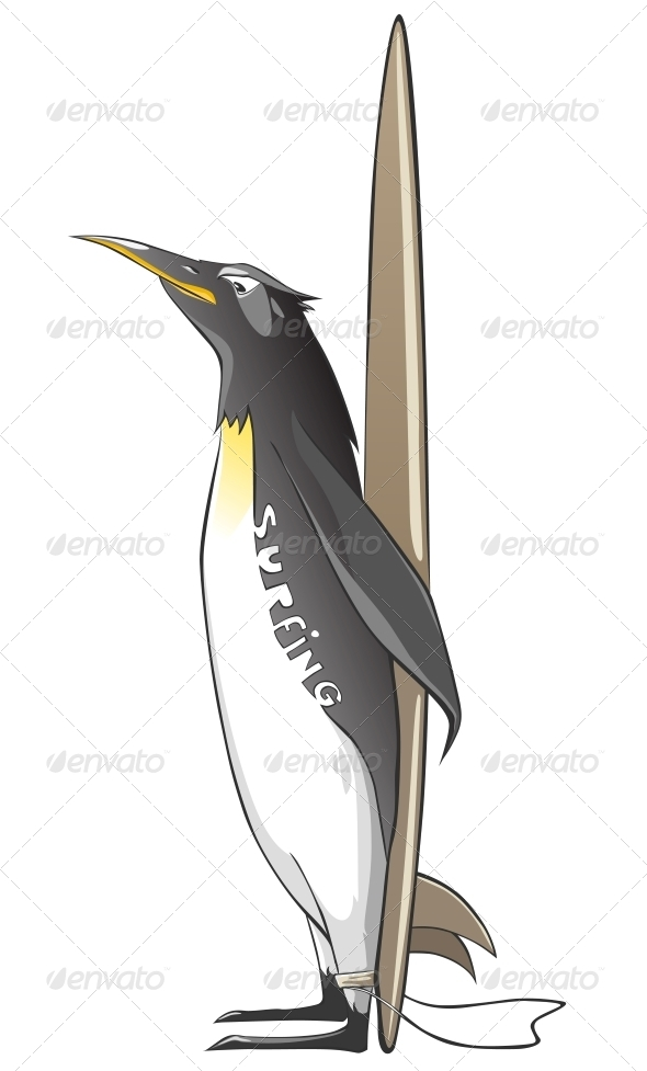 GraphicRiver Cartoon Character Penguin 4969242