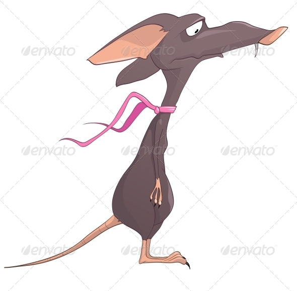 GraphicRiver Cartoon Character Rat 4969468