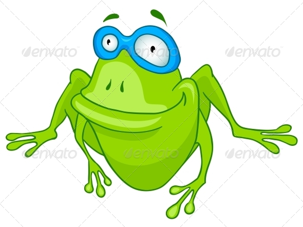 GraphicRiver Cartoon Character Frog 4969841