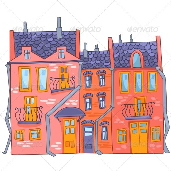 GraphicRiver Cartoon House 4970272