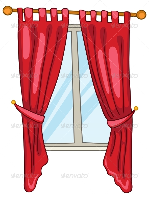 GraphicRiver Cartoon Home Window 4970551