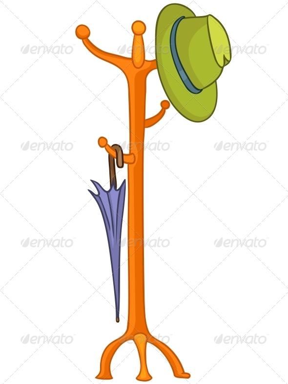 GraphicRiver Cartoon Home Hanger 4970569