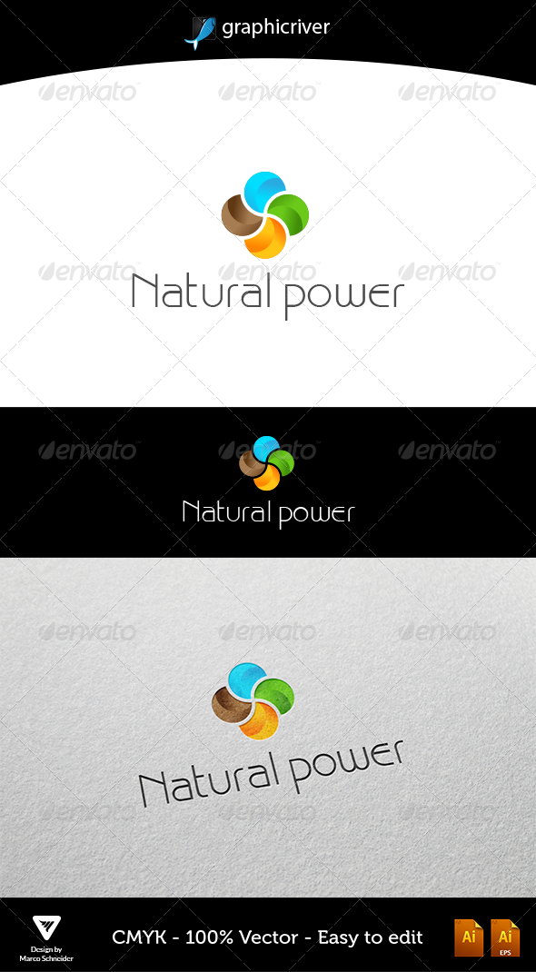 Natural Power - Logo Templates