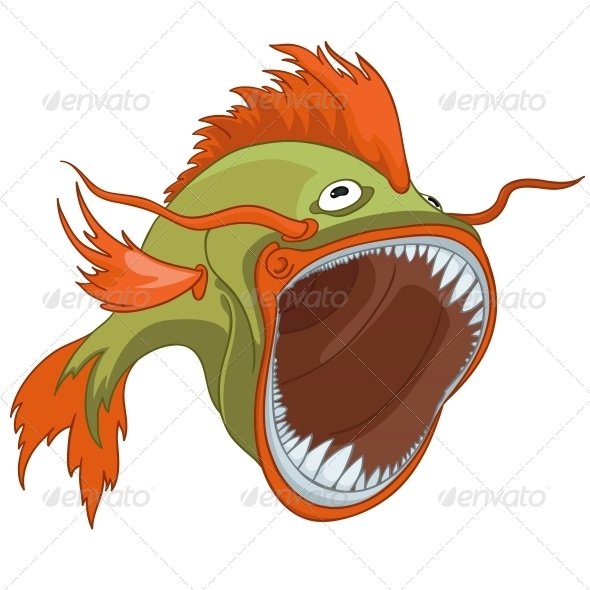 GraphicRiver Cartoon Character Fish 4970960