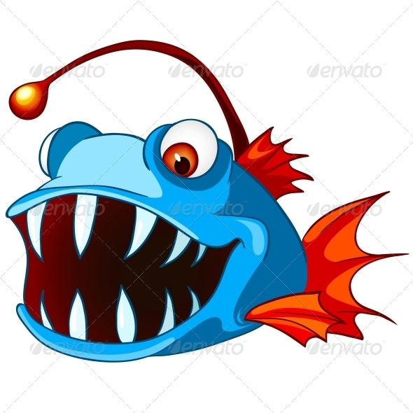 GraphicRiver Cartoon Character Fish 4970983