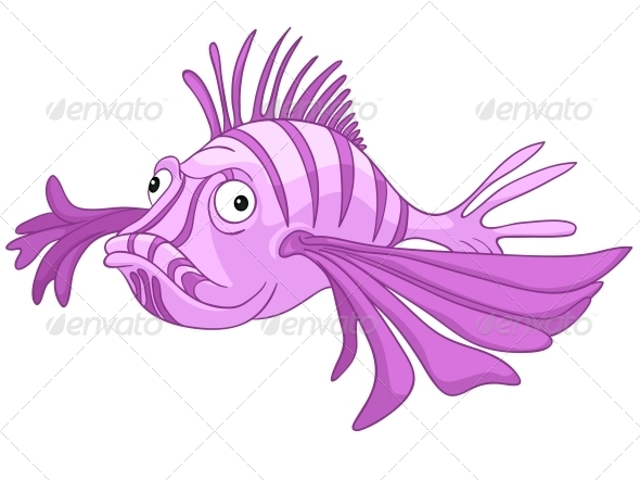 GraphicRiver Cartoon Character Fish 4971160