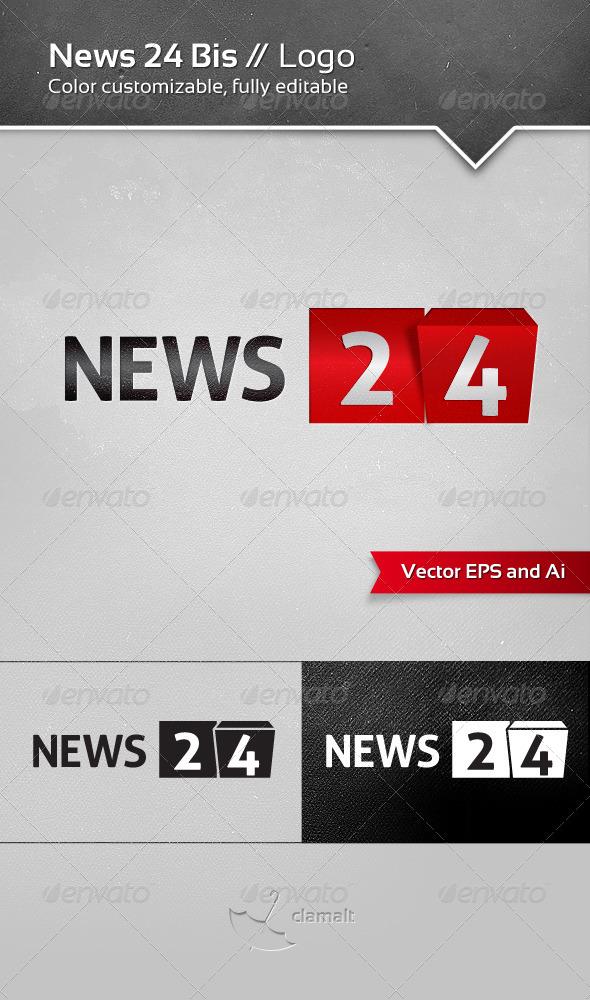 GraphicRiver News 24 Bis Logo 4960542