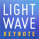 Lightwave Keynote Presentation Template - GraphicRiver Item for Sale