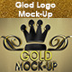 Gold Logo Mock-up - GraphicRiver Item for Sale