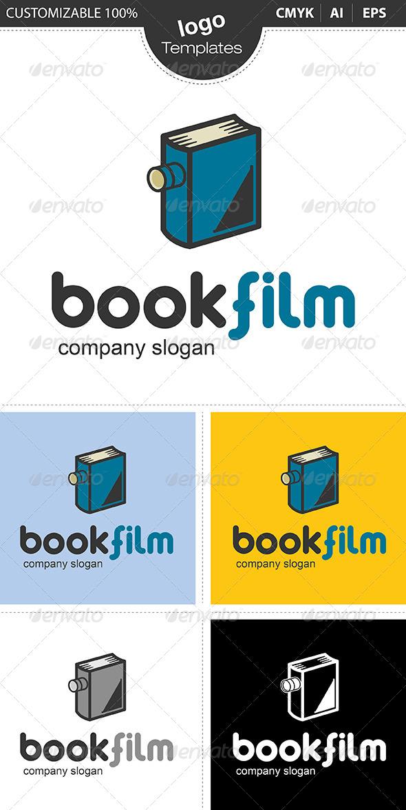 GraphicRiver Bookfilm Logo 4974330