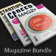 Indesign Magazine Bundle - GraphicRiver Item for Sale