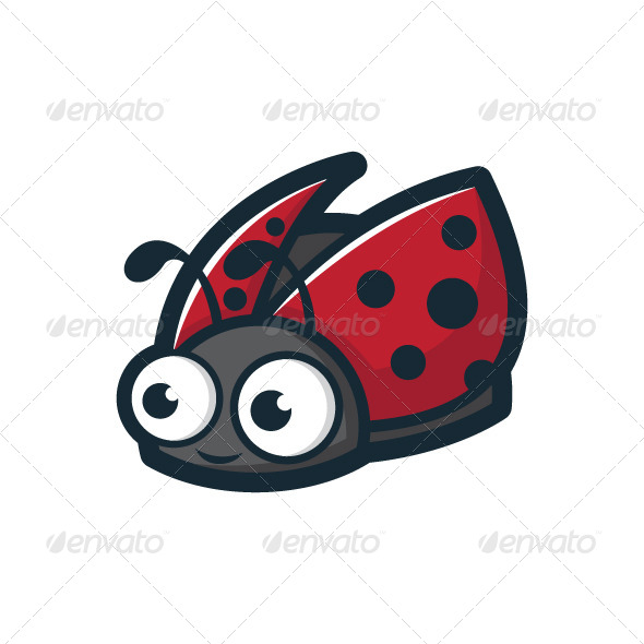 GraphicRiver Cute Ladybug Character 4975158